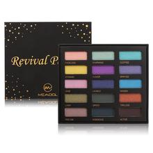 MIAOOL Highly Pigmented Eyeshadow Palette 15 Colors Shimmer Matte Makeup Soft Silky Pigments