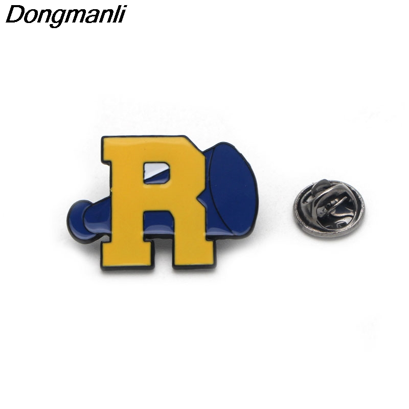DMLSKY RIVERDALE Enamel Pin Cartoon brooch clothes pins badges for denim blouse charm tie pins jewelry accessories M1766 in Brooches from Jewelry Accessories