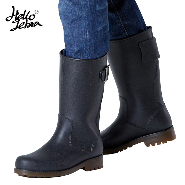 free shipping 2016 new fashion mens rain boots waterproof rainboots matt shoes rainday water. Black Bedroom Furniture Sets. Home Design Ideas