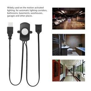 Image 3 - Capteur de mouvement humain infrarouge PIR, interrupteur USB 5V/12V/24V DC, interrupteur détecteur de mouvement humain, pour lumière LED bandes, automatique