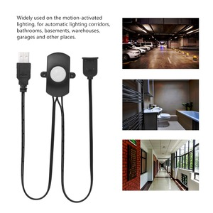 Image 3 - DC 5V/12V/24V USB 바디 적외선 PIR 모션 센서 스위치 인간의 모션 센서 감지기 스위치 LED 빛 스트립에 대 한 자동