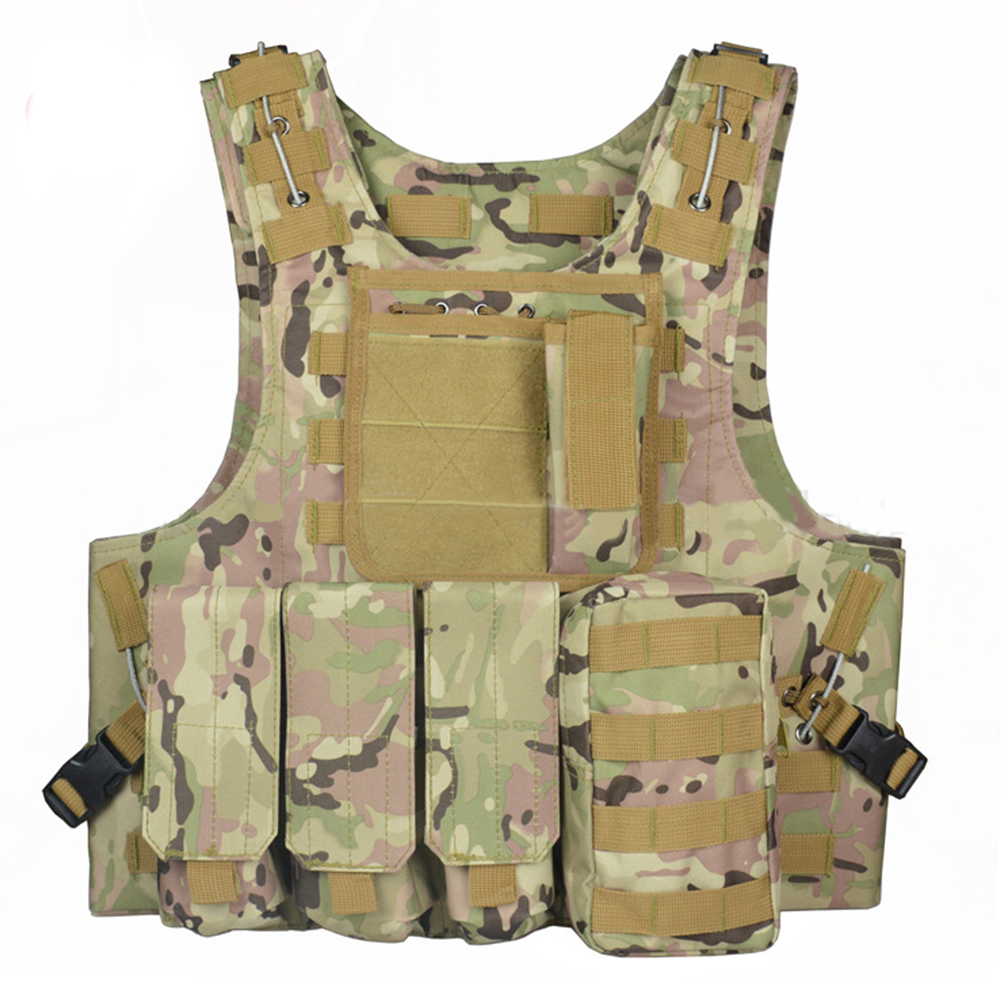 New Hunting Vest Military Swat Field Battle Airsoft Molle Assault Plate Carrier Vest