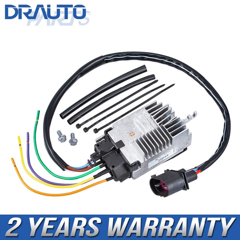 Control Unit Electric Fan For Audi A6 A6 Quattro 2005 2011 OE 4F0959501E 4F0959501G 4F0959501A