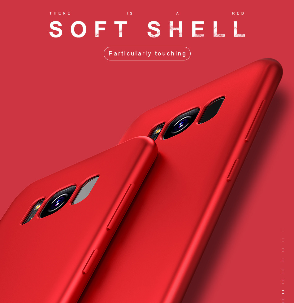 DOEES Matte Phone Case For Samsung Galaxy S8 S9 Plus Luxury Soft Silicone TPU Ultra Thin Cover For Samsung S7 Edge S8 S9 Plus (1)