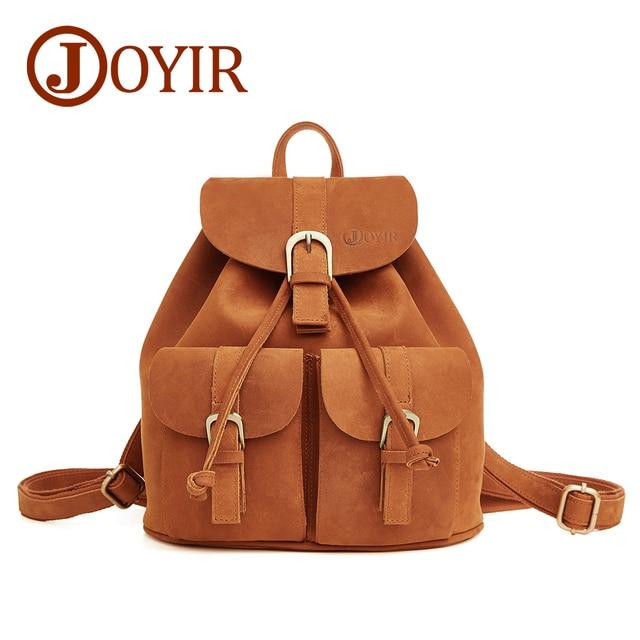 designer famous Genuine Leather women backpack vintage brown school girl  shoulder bag backpacks ladies shopping travel bags 8e0c6068b
