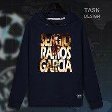 Sergio Ramos jerseys hombres sudaderas con capucha sudadera ropa streetwear  chándal real casual España futbolista Madrid 896268dc163