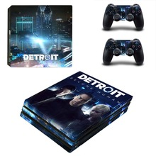 Detroit Become Human PS4 Pro Skin Sticker Vinyl Decal
