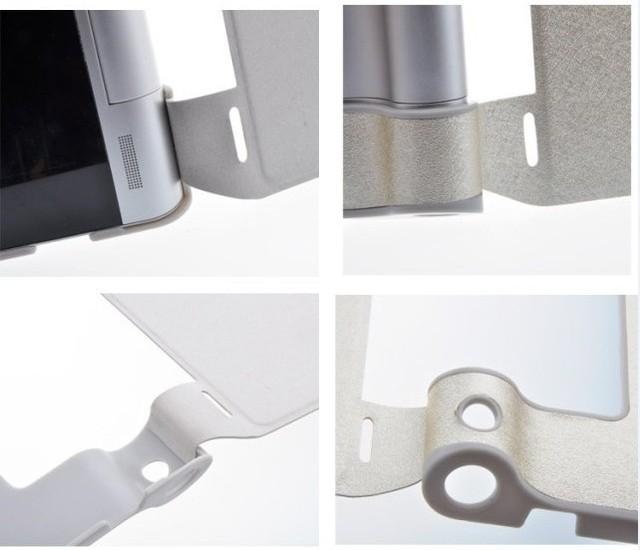 Smart Cover Silk Печать Защитный Кожаный Чехол Для 8 Дюймов Lenovo Yoga B6000 Tablet PC Подарок Screen Protector + Стилус