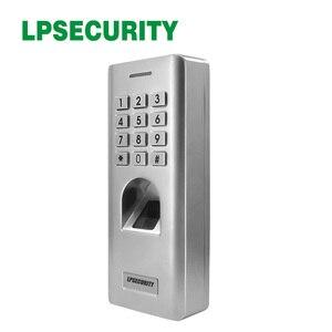 Image 4 - 1000 kullanıcılar su geçirmez IP66 şifre parmak izi erişim kontrolü Metal kasa Anti Vandal biyometrik kapı kilidi erişim kontrolü tuş takımı