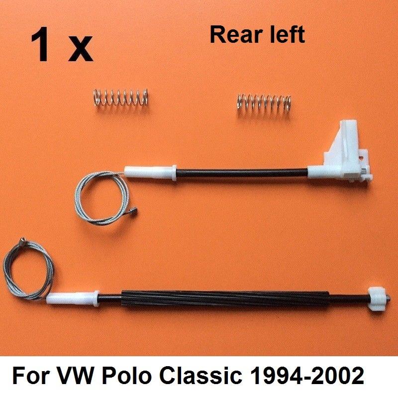 For VW Polo Classic 1994-2002 Window Regulator Repair Kit Rear Left Door