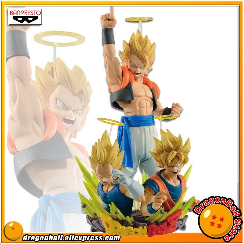 SALE Original Banpresto Dragon Ball Z Com:Figuration GOGETA Vol.1 & 2 Collection Figure - Super Saiyan Gogeta & Son Goku Vegeta dragon ball z figurines son goku gogeta