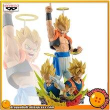Продажа Оригинал Banpresto Dragon Ball Z com: конфигурации gogeta Vol.1 и 2 Коллекция Рисунок-Супер Саян gogeta & Son Goku Вегета