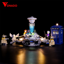 Led Light For Lego 21304 Building Bricks Blocks Creator City Dr Who Time-travel with the Doctor Toys ( light with Battery box) недорго, оригинальная цена
