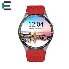 E T Android 5.1 OS CPU MTK6580 quad-core-smart armbanduhr aluminium uhrengehäuse BT 4,0 2.0MP + WIFI GPS smartwatch für Andoid IOS