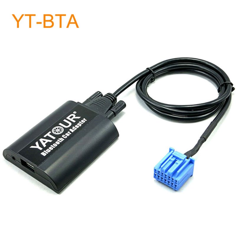 Yatour BTA Car Bluetooth Adapter Kit for Factory Head Unit Radio for Honda Accord Civic CRV Insight Odyssey Pilot Prelude S2000 yatour car bluetooth adapter kit work with factory cd changer for honda accord civic crv element odyssey pilot fit s2000 legend