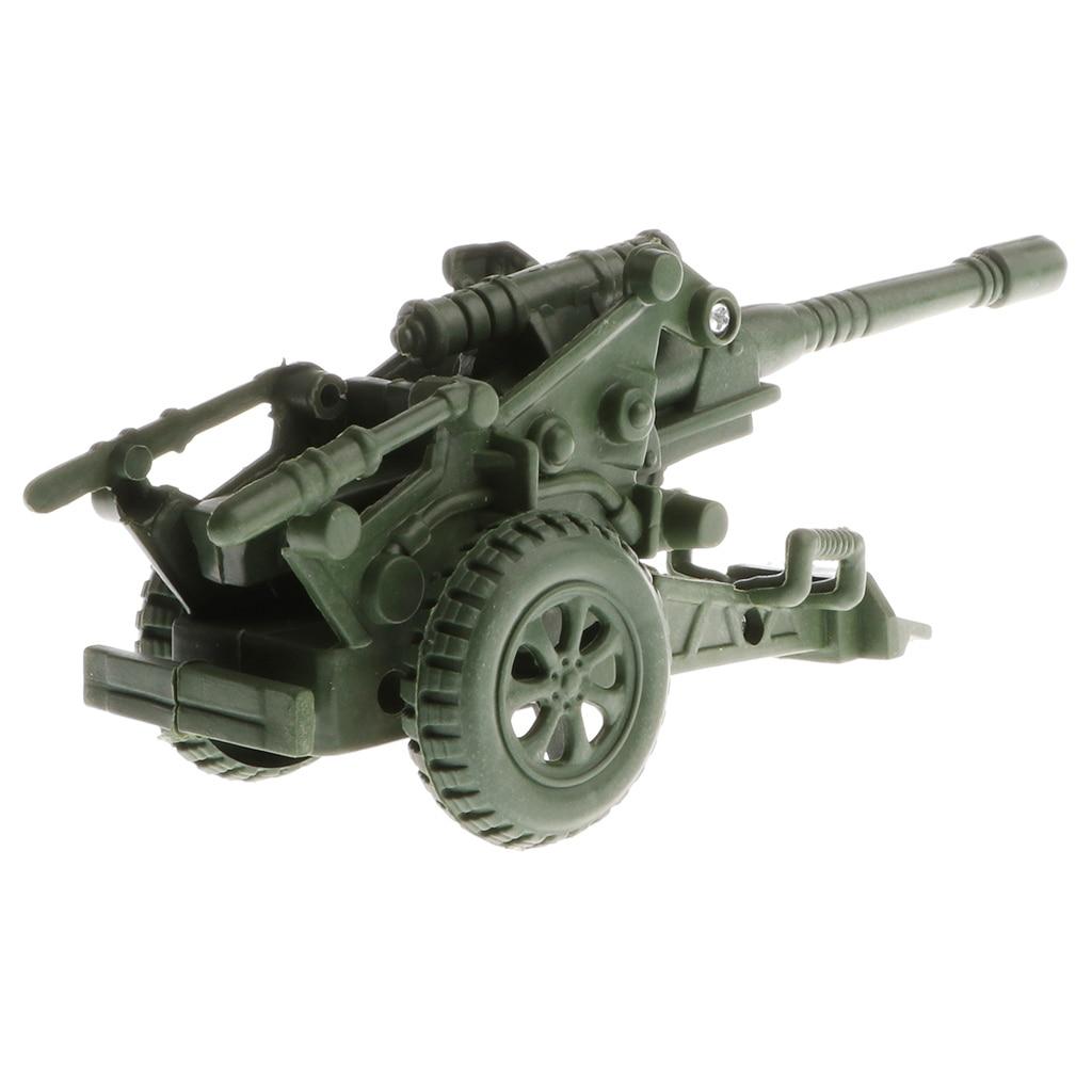 Моделирование гаубица Ступка модель для военной базы Playset аксессуары сцены песок модель игрушки для детей игры подарок