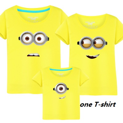 Household Matching Outfits Minions T Shirts mom & youngsters T-shirt Household Clothes Mom Daughter father son Outfit Set Tees Tops Aliexpress, Aliexpress.com, On-line purchasing, Automotive, Telephones & Equipment, Computer...