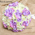 Bride Flower 2017 Lilac Wedding Bouquet Colorful Artificial Bridesmaid Bouquet High Simulation Bridal Hand Holding Flowers WF019