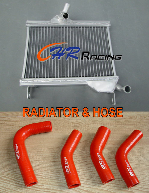 US $75 0 |Aliexpress com : Buy Aluminum radiator & Red Silicone Hose FOR  Yamaha RZ350 RZ 350 RD350 RD250 RD 350 250 from Reliable Engine Cooling &