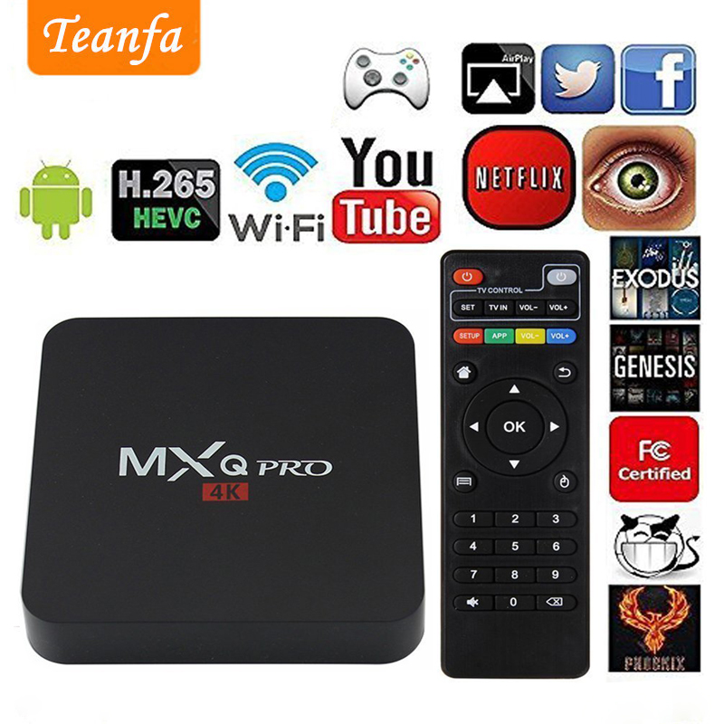 TTV BOX MX Pro 4K TV Box Latest KD 18.0 version tv box Android 7.1 2GB 8GB RK3229 4K Quad Core Android TV Box iptv Media Player цена