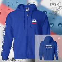 Slovenia Slovenija Slovene hoodies and sweatshirt jerseys polo sweat suit streetwear tracksuit nation fleece zipper flag 2017