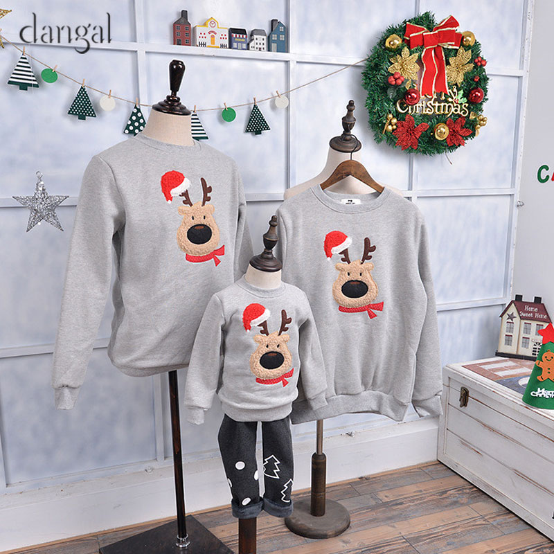 844a73eab879 Family Christmas Sweaters Set Christmas Family Clothes Christmas Clothes  for Family Couple Clothes Tick Green Red-in Pullovers from Women s Clothing  on ...