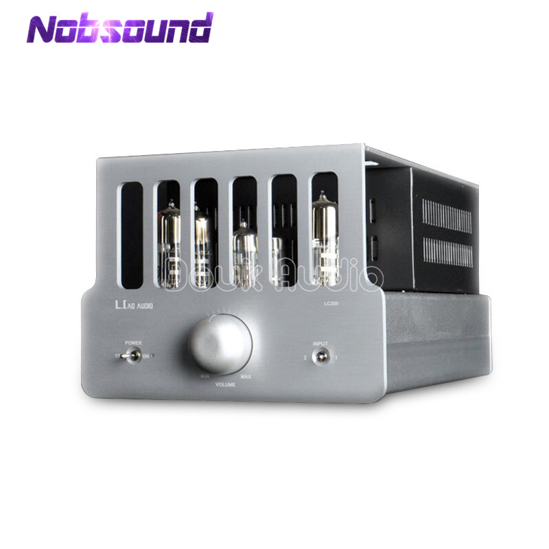 Nobsound Hi-end 6S6 Vacuum Tube Power Amplifier Hi-Fi Push-Pull Stereo Integrated Desktop Valve Amplifier hi end 300b valve