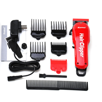 Kemei Barber Hair Clipper Professional Cordless Hair Trimmer for Men Beard Electric Cutter Oil Head Hair Cutting Machine Haircut-in Hair Trimmers from Home Appliances