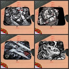 Character Poker Silicon Anti-slip Gaming Mousepad Pc Rubber Mouse Pad Mat For Optical Mice Trackball Mouse As A Present