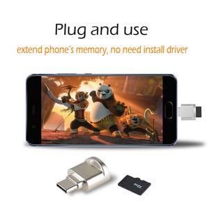 Image 2 - Adaptateur Portable type c OTG porte clés Type C Micro lecteur de carte SD convertisseur adaptateur OTG avec lecteur de carte mémoire TF