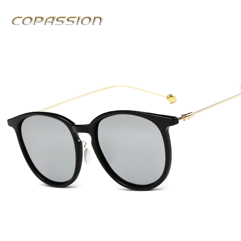 2017 Hot branded polarized sunglasses women Vintage design Round glasses mens sun glasses uv400 Eyewear oculos de sol feminino