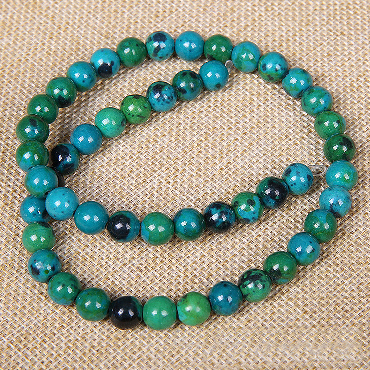 Natural Phoenix stone beads DIY semi - finished pros