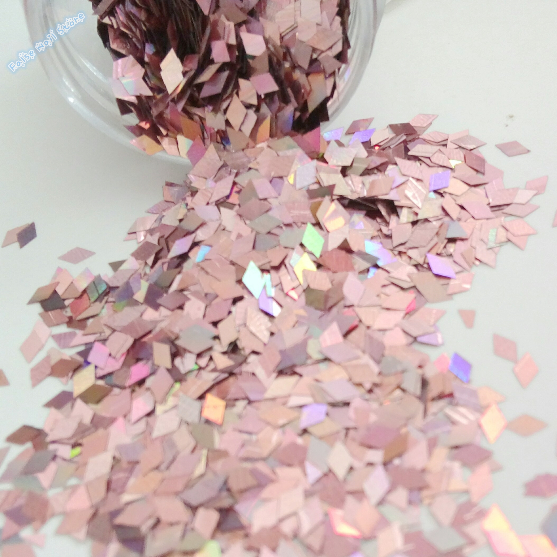 Shiny Sexy Acryl Nagel Glitter Paillette Diamant Form 3D DIY Nagel ...