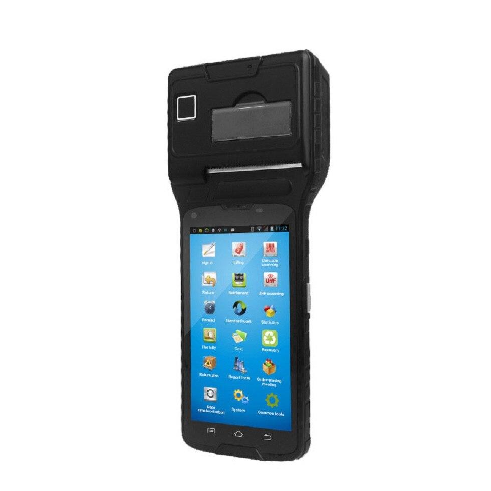5 дюймов andrild ручной pos-терминал pdawith NFC читатель и UHF RFID, термальность принтер и 1D штрих readerls550s (1D + UHF)