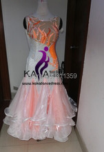 KAKA DANCE B1430,New Dance Wear Ballroom Standard Dance Dress,Waltz Competition Dress,Women,Ballroom Dance Dress