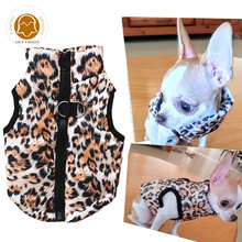 Warm Dog Clothes For Small Dogs Windproof Winter Pet Dog Coat Jacket Costume Padded Puppy Outfit pets clothing for dogs