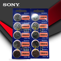 10pcs/lot SONY 3V Lithium Coin Cells Button Battery DL2016 KCR2016 CR2016 LM2016 BR2016 High Energy Density|Button Cell Batteries|   -