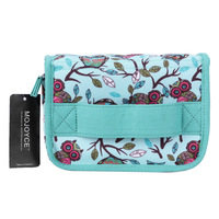1 Pc 20 Slot Green New Style Birds Pattern Portable Shock Resistant Essential Oil Carrying Storage