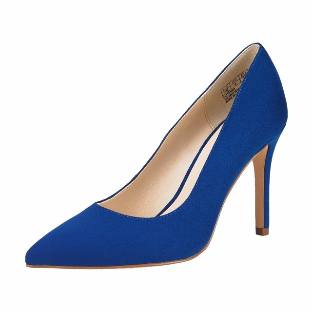 25fbbcf4c12 JENN ARDOR New Arrivals 2018 Women Stiletto Pumps Silk Satin Pointed Closed  Toe Classic Slip On Dress Bridal Wedding Party Pumps