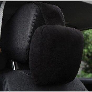 CHIZIYO 1 PC Maybach projekt S klasy samochód szyi siedzenia miękka poduszka zamszowe zagłówek samochodowy obejmuje