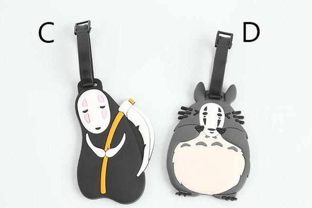 Totoro & No-Face Luggage Tag