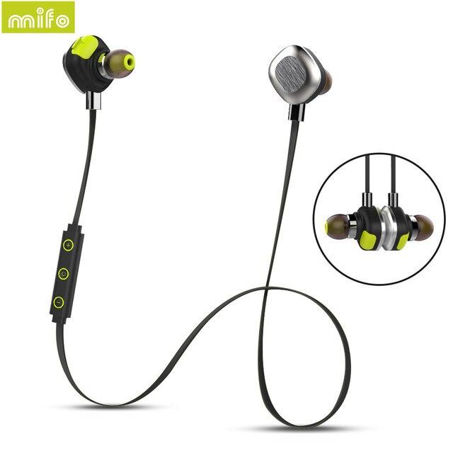 Mifo U5 Plus наушники bluetooth наушники с микрофоном блютуз гарнитура Спорта Водонепроницаемый Ipx7 наушники беспроводные наушники для айфона xiaomi наушники для телефона