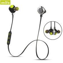 Mifo U5 Plus Magnetic Design Wireless font b Earphone b font Bluetooth Headset Waterproof Stereo Sport