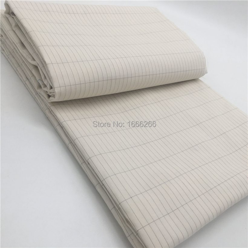 Ground Conductive Earth Anti-static Fabric Silver Fiber Cotton Fabric
