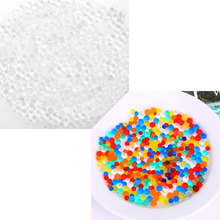 Multi-color 3MM 5000PCS/Bag Soft Crystal Water Paintball Water Balls Soil Water Beads Toy For Children Multifunctiona kids Toy