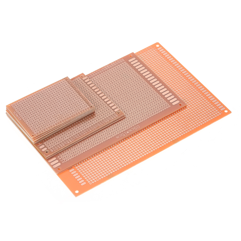 12pcs Prototype PCB Board Breadboard Universal Printed Circuit Board Kit for Electronic DIY Project ...
