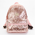 New 2015 Paillette Bling Bag Women Backpack Women'S Colorful Canvas Backpacks Women Travel Bag College Book School Bag