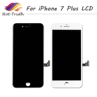 ET Super Black And White For Iphone 7 Plus LCD Display Complete 3D Touch Screen Digitizer