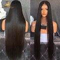 360 Парики Шнурка 180% Плотность Полный Шнурок Человеческих Волос Парики Для женщины Индийский Девы Прямые Волосы Предварительно Сорвал 360 Парики, Кружева Лобные