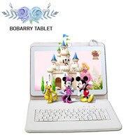 BOBARRY 10,1 дюймов 4 г tablet Octa Core 4 ГБ Оперативная память 128 ГБ Встроенная память 8 ядер andriod 6,0 8MP 1280*800 ips дети подарок СЕРЕДИНЕ Планшеты 10,1
